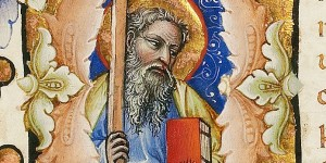 St. Andrew - MS. 34, F. 172A